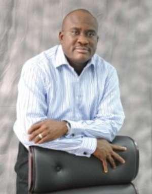 MTN Ghana Boss, Mike Ikpoki