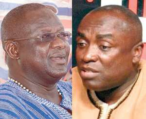 Who are the Enemies of Paul Afoko and Kwabena Agyepong, if Not Themselves?