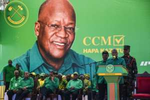 Tanzanian President John Magufuli has continually played down the seriousness of the virus.  By ERICKY BONIPHACE (AFP/File)