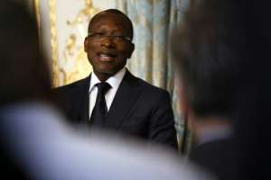 Talon says that changing the electoral code will simplify Benin's complex political mosaic.  By Etienne LAURENT (POOL/AFP)