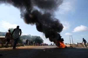 Tensions were high in Abuja after police reported that three people had been killed in clashes there on Monday    .  By Kola Sulaimon (AFP)