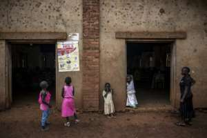 Teaching staff and aid workers fear that children who walk around freely in Mangina pose a risk far worse than they would pose in a monitored classroom.  By John WESSELS (AFP/File)