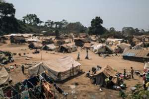 Thousands of people have died in the CAR since 2013 and more than a quarter of the population of 4.9 million have fled their homes, including to neighbouring countries like DR Congo.  By ALEXIS HUGUET (AFP/File)