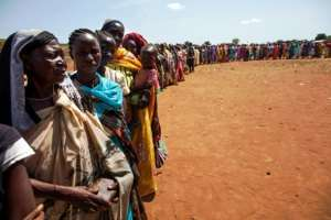 The conflict has left around 380,000 people dead and forced more than four million South Sudanese to flee their homes. By ALBERT GONZALEZ FARRAN (AFP)