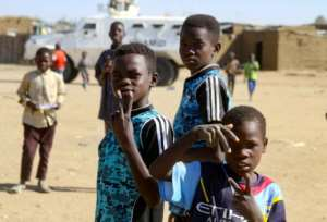 The camps for the displaced in Darfur have been around for so long that some children and even teenagers know no other existence than camp life.  By - (AFP)