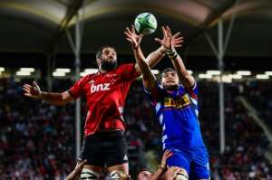 The Canterbury Crusaders maintained their imposing home record against South African teams.  By John Davidson (www.photosport.nz/AFP)