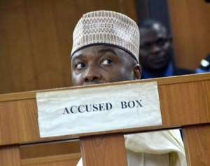 The case against Senate president Bukola Saraki has been one of Nigeria's most high-profile anti-corruption prosecutions in recent years.  By - (AFP)