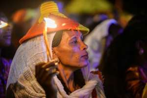 The celebrations in Tigray have highlighted tensions with the government in Addis Ababa.  By MICHAEL TEWELDE (AFP)