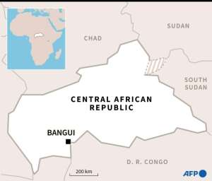 The Central African Republic.  By  (AFP/File)