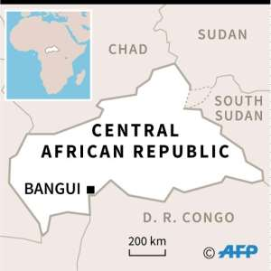 The Central African Republic is ranked next to last on the UN's 2018 Human Development Index. Life expectancy is just 52.9 years..  By  (AFP)
