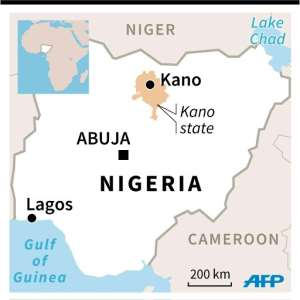 The city and state of Kano.  By  (AFP)