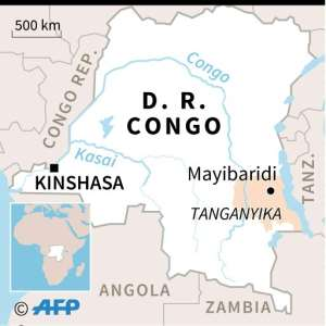 The accident happened near Mayibaridi, in eastern DR Congo.  By  (AFP)