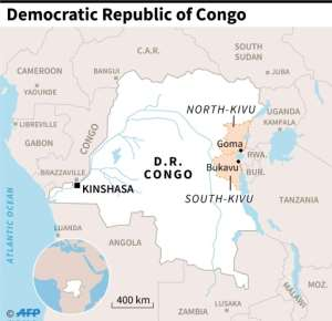 The accident in the gold mine occurred in the South Kivu province of the Democratic Republic of Congo.  By Simon MALFATTO (AFP/File)