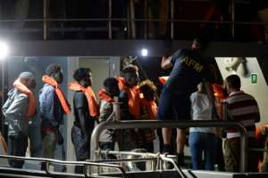 The Alan Kurdi last week rescued 65 shipwrecked migrants attempting the perilous journey from North Africa.  By Matthew Mirabelli (AFP/File)