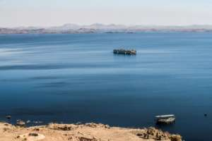 The Aswan dam created the vast Lake Nasser, which flooded the homeland of Egypt's Nubian people, forcing tens of thousands of leave.  By Khaled DESOUKI (AFP)