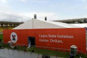 The authorities are setting up a coronavirus isolation and treatment centre at a sports stadium.  By PIUS UTOMI EKPEI (AFP)