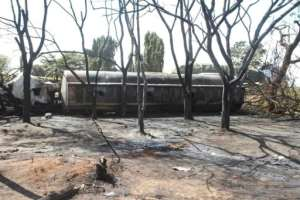 The deadly blast took place near the town of Morogoro, west of the economic capital Dar es Salaam.  By STRINGER (AFP)