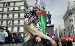 The demonstrations have largely been peaceful and led by young people keen to see a new generation of politicians rule their country. By Ryad KRAMDI (AFP)