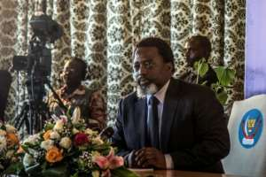 The DR Congo government of President Joseph Kabila, pictured in this January 26, 2018 file photo, had  announced it was waging