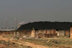 The Duvah Power station on the outskirts of Witbank, South Africa