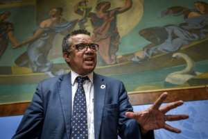 The Ebola outbreak is the first major health challenge facing WHO chief Tedros Adhanom Ghebreyesus since he was elected almost a year ago. The Ethiopian is the first African to head the UN's health agency.  By Fabrice COFFRINI (AFP)