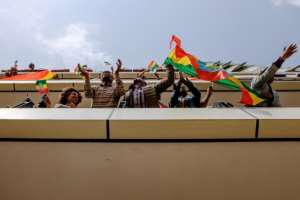 The Eritrean President's July visit to Addis Ababa marked a peace agreement and an end to long-running hostilities between the African neighbours.  By STRINGER (AFP)