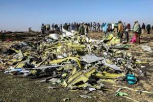 The Ethiopian Airlines Boeing 737 MAX 8 went down minutes into a flight to Nairobi, killing all 157 people on board. By Michael TEWELDE (AFP)