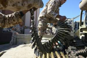 The fighting in Libya threatens to derail a United Nations push for elections. By Mahmud TURKIA (AFP)