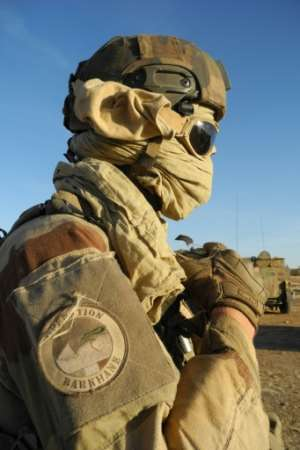 The first French troops were initially deployed in northern Mali in 2012.  By Daphné BENOIT (AFP/File)