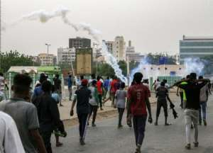 The first mass rallies since a deadly June 3 crackdown were met with teargas as security forces deployed en masse.  By Ebrahim Hamid (AFP)