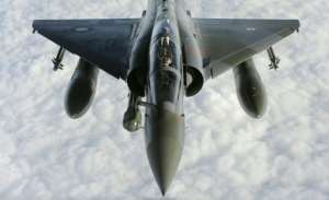 The French military said that Mirage 2000 fighters (similar to this one pictured) intervened