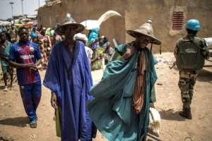 The Fulani, an ethnic group also known as Peuls, are scattered across the Sahel and have deep traditions of nomadic herding.  By Marco LONGARI (AFP)