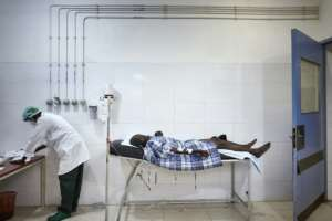 The hospital receives patients wounded by gunshots and explosive devices on a daily basis.  By MICHELE CATTANI (AFP)