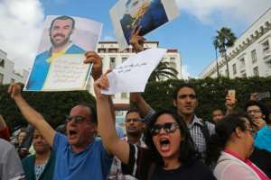The jailing of the 'Hirak' protestors in June sparked demonstrations over the harsh sentences.  By - (AFP/File)
