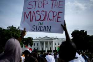 The June 3 killings have sparked international anger, including in Washington.  By Brendan Smialowski (AFP/File)