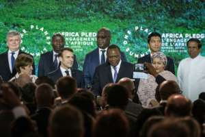 The One Planet Summit brought together policymakers and business leaders to boost funding for renewable energy projects in Africa, thus protecting its forests. By Yasuyoshi CHIBA (AFP)
