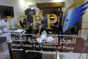 The Libyan Center for Freedom of Press has documented 32 attacks on journalists since early April.  By Mahmud TURKIA (AFP/File)