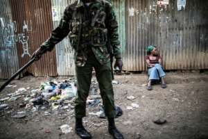 The Mathare slum in Nairobi was the scene of deadly post-election clashes