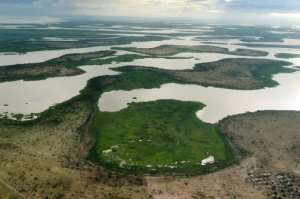 The marshlands of Lake Chad provide ideal terrain for jihadists to mount surprise attacks.  By SIA KAMBOU (AFP)