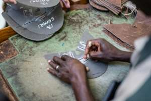 The meticulously handmade boots sell for between $140 and $500 a pair. By Zinyange Auntony (AFP)
