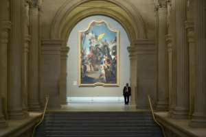 The Metropolitan Museum of Art in New York reopened to the public after a six-month shutdown due to coronavirus restrictions.  By Kena Betancur (AFP)