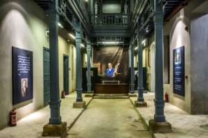 The Naguib Mahfouz museum in the heart of the Egyptian capital Cairo.  By Khaled DESOUKI (AFP)
