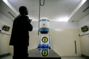 The new Cobalt-60 Radiotherapy Machine is now installed at Mulago hospital