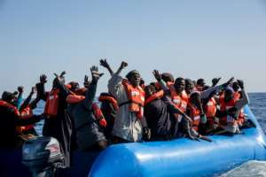 The NGOs say EU governments should support search and rescue operations to ensure people rescued at sea arrive safely in Europe.  By FEDERICO SCOPPA (AFP/File)