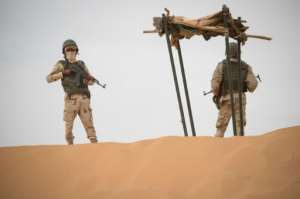 The scale of the challenge facing the G5 Sahel force is huge.  By THOMAS SAMSON (AFP/File)