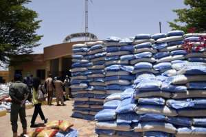 The scale of the government aid is exceptional in West Africa, one of the poorest regions in the world.  By Seyllou (AFP)