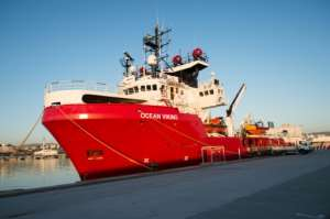 The search and rescue vessel Ocean Viking, run by the charities SOS Mediterranee and Doctors Without Borders (MSF), ran into a near two-week standoff with European nations, with arguments over who should take in the migrants.  By CLEMENT MAHOUDEAU (AFP/File)
