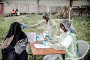 The shadow of the virus is lengthening across Africa.  By LUIS TATO (AFP)
