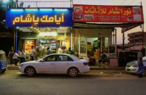 The Syrian presence in the Kafouri neighbourhood, where Levantine Arabic is widely heard, has also led to fierce competition between restauranteurs.  By Ebrahim HAMID (AFP/File)