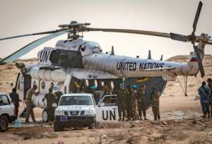 The Polisario Front said it was still willing to join UN talks on the territory's future -- but would not lay down its arms.  By Fadel SENNA (AFP/File)